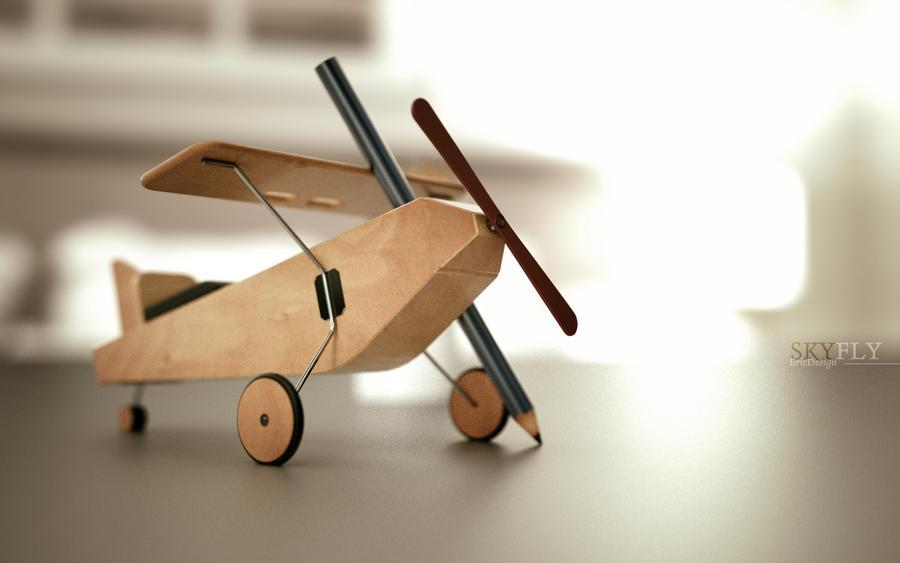 SkyFly by 3DEricDesign