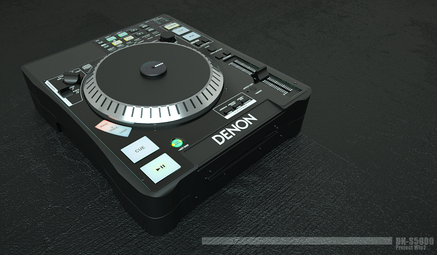 dns5000 wip2 by 3DEricDesign