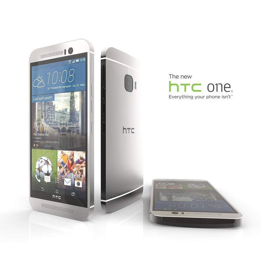 HTC ONE M9 ready for buy by 3DEricDesign