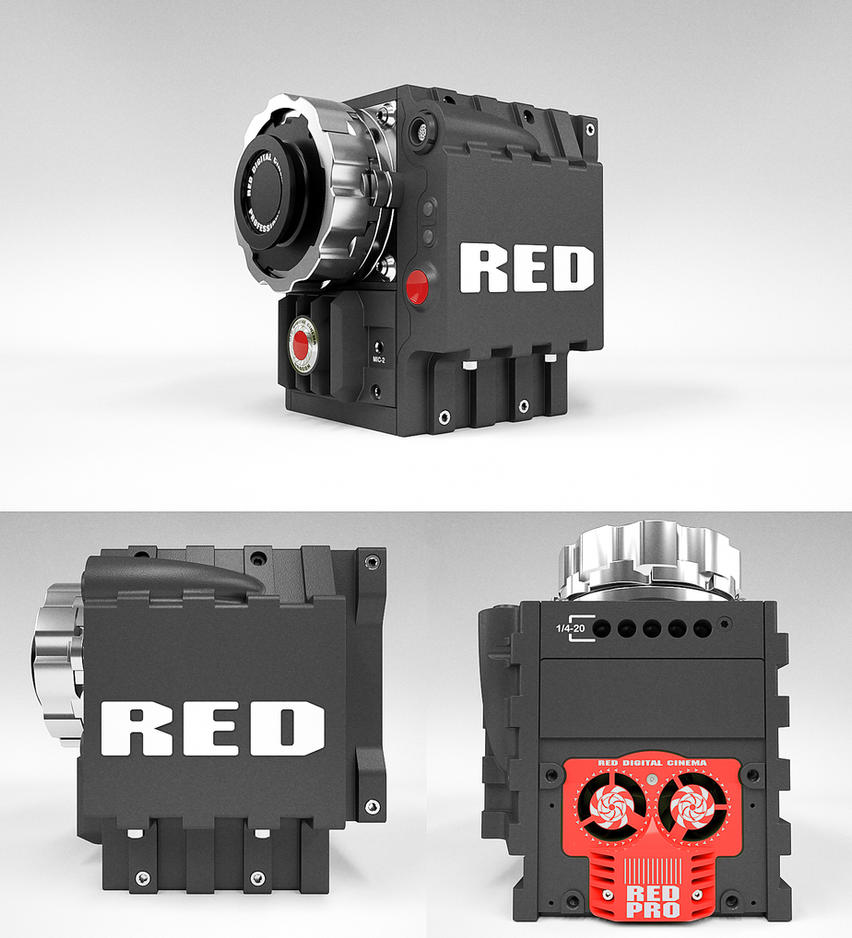 Red-pro by 3DEricDesign