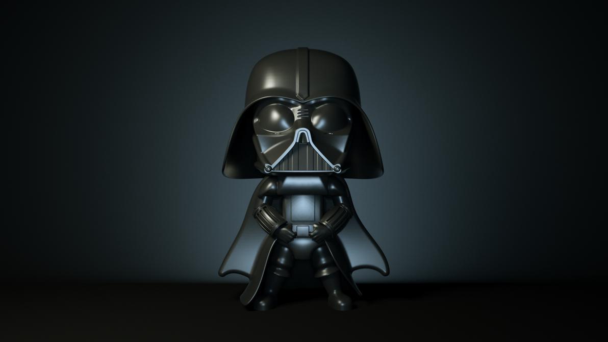 Darth-vader by 3DEricDesign