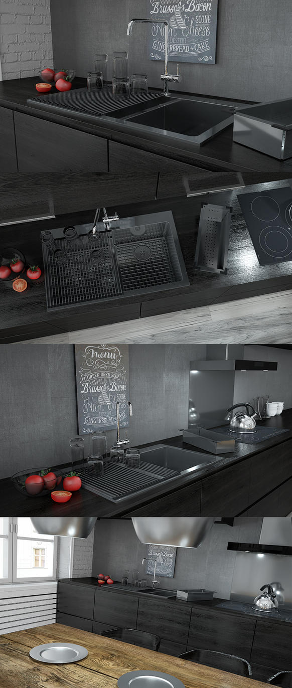 Sinks-lifestyle by 3DEricDesign