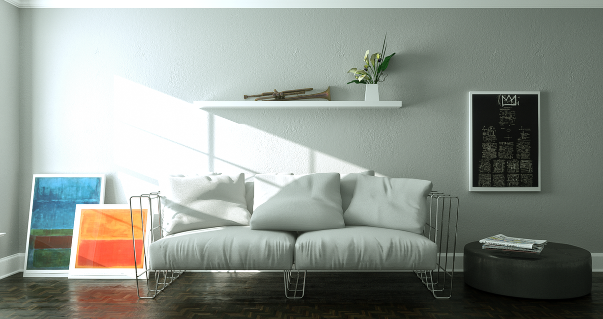 Living Sofa by 3DEricDesign