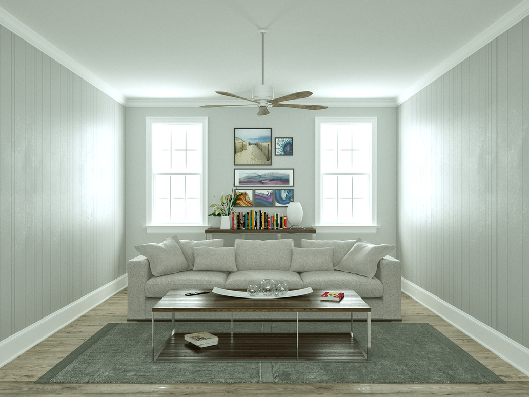 Summer-living-room by 3DEricDesign