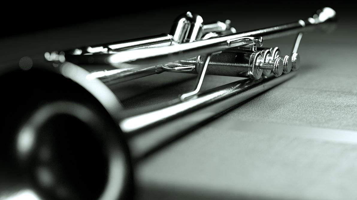 Trompette-wallpaper by 3DEricDesign