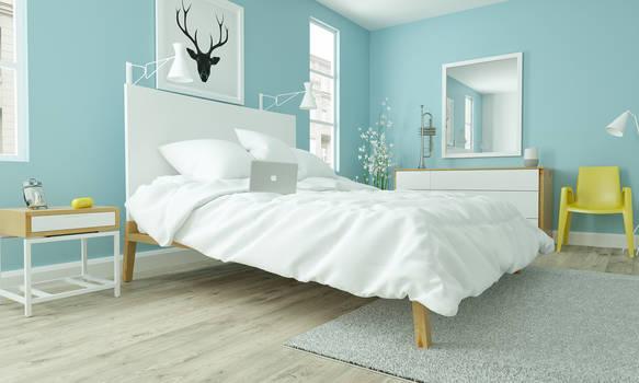 Modern Bedroom Ikea Style