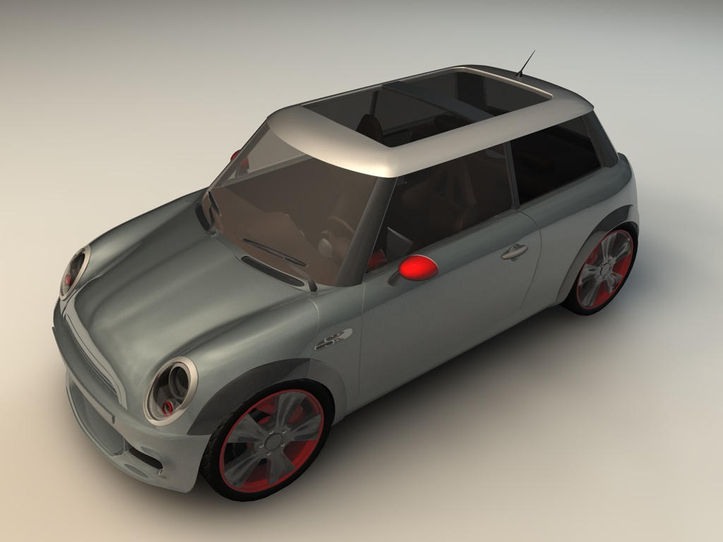 minicooper wallpaper by 3DEricDesign