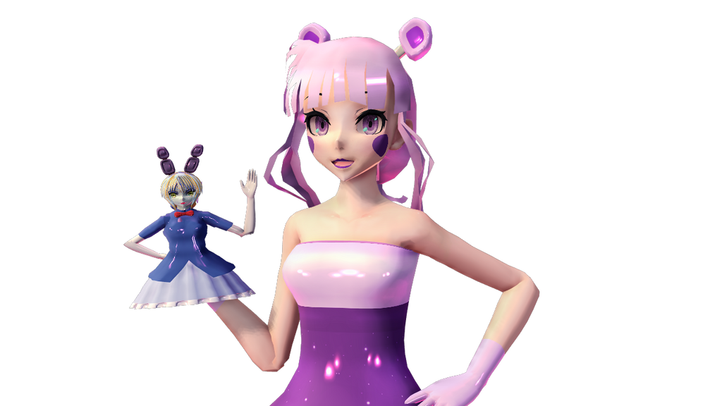 Mmd Funtime Freddy: FNAF Sister Location : Funtime Freddy : MMD By Cylops2000