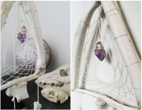 Bone Machine Dream Catcher