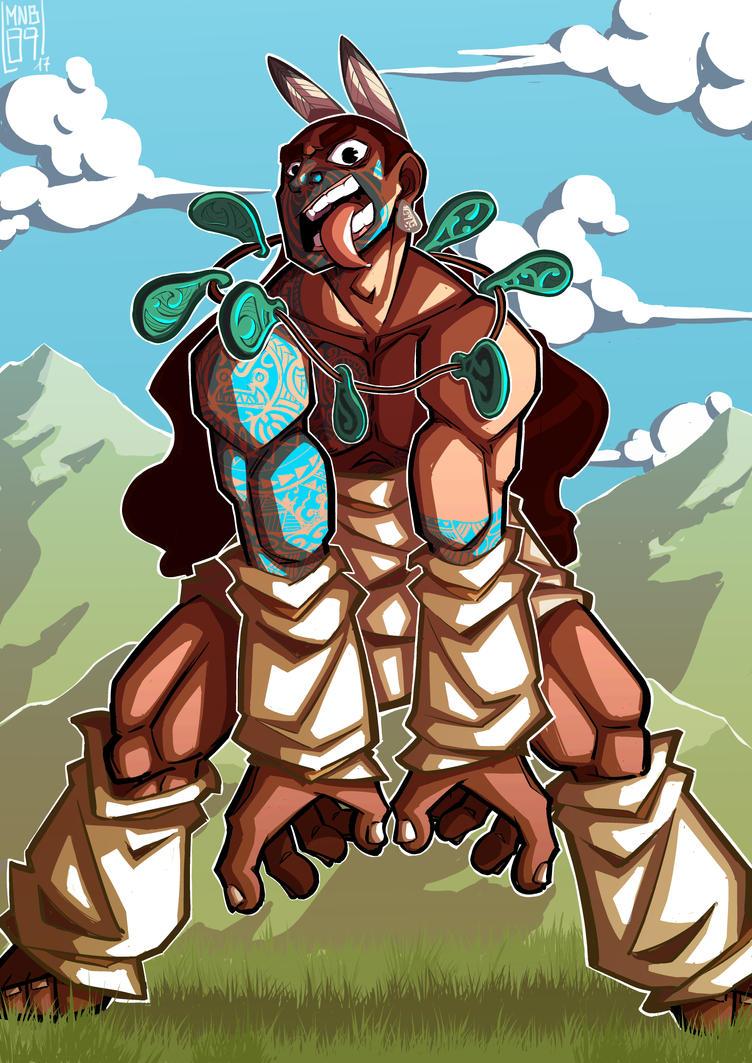Warrior Maori by MnB89