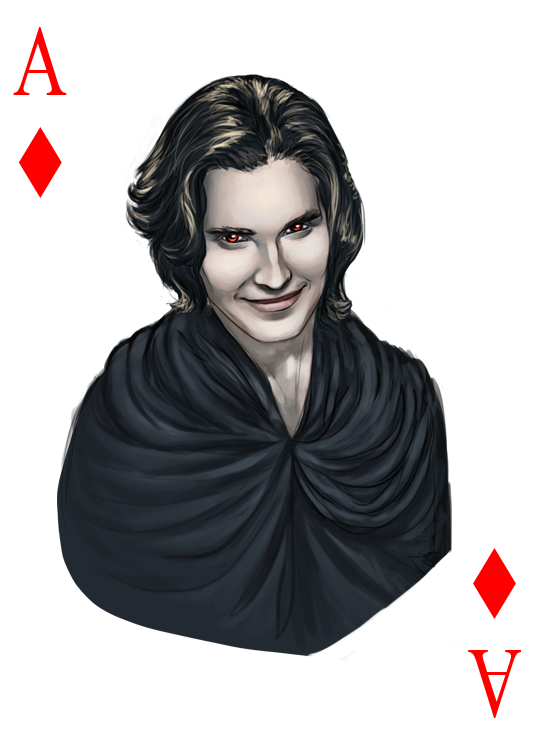 -TwiCard- Ace of diamonds by Ingvild-S