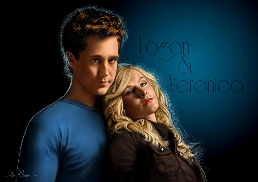 Logan and Veronica - update by IngvildSchageArt