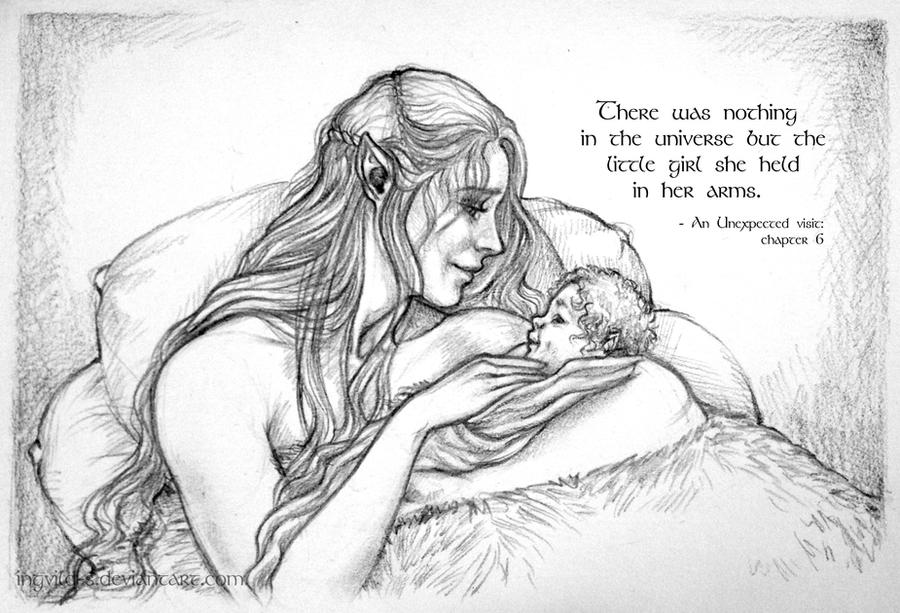 Tauriel and Kiliel - Nothing in the Universe by Ingvild-S