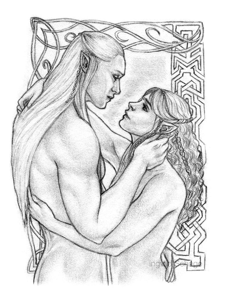 Legolas and Kiliel - Open your heart by Ingvild-S