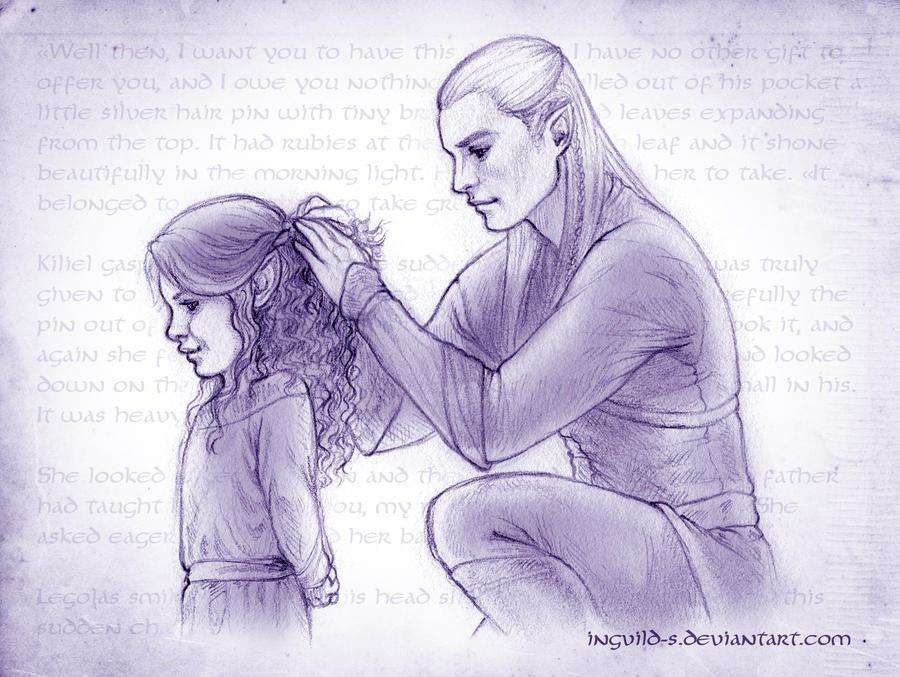 Kiliel and Legolas - Only a moment by Ingvild-S on DeviantArt