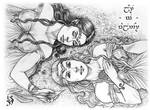 Galadriel and Aredhel - Summer in Valinor