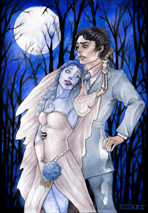 Corpse Bride :: Til Death do us Part by IngvildSchageArt