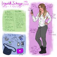Meet the Artist 2017 :: This is me  by IngvildSchageArt