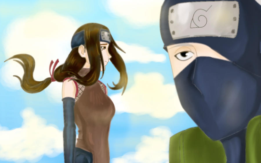 Pin Kakashi X Hanare Sensei Video Fanpop on Pinterest