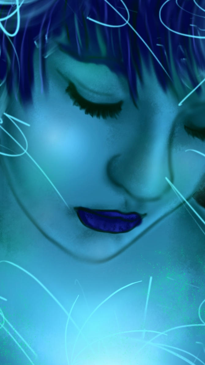 Blue Self by doll-fin-chick
