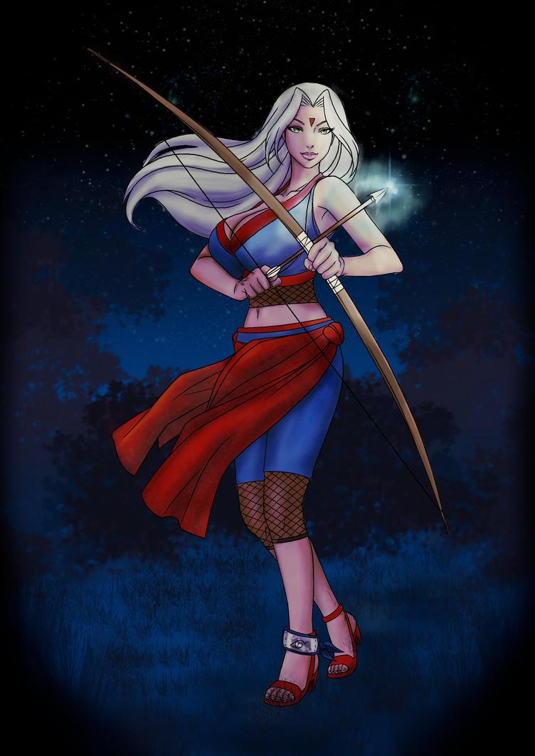 Miyuki: Archer by doll-fin-chick
