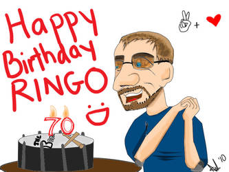 Happy Birthday Ringo