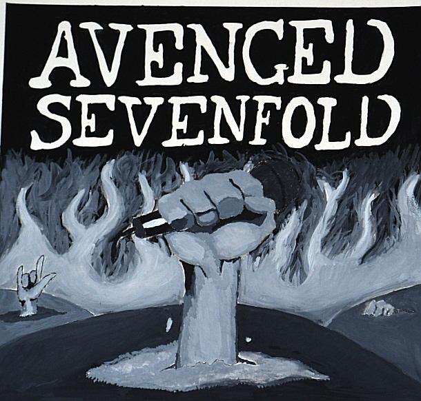 avenged sevenfold cd design by mgssnake on deviantart. Black Bedroom Furniture Sets. Home Design Ideas
