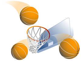 basketball by santidiablo