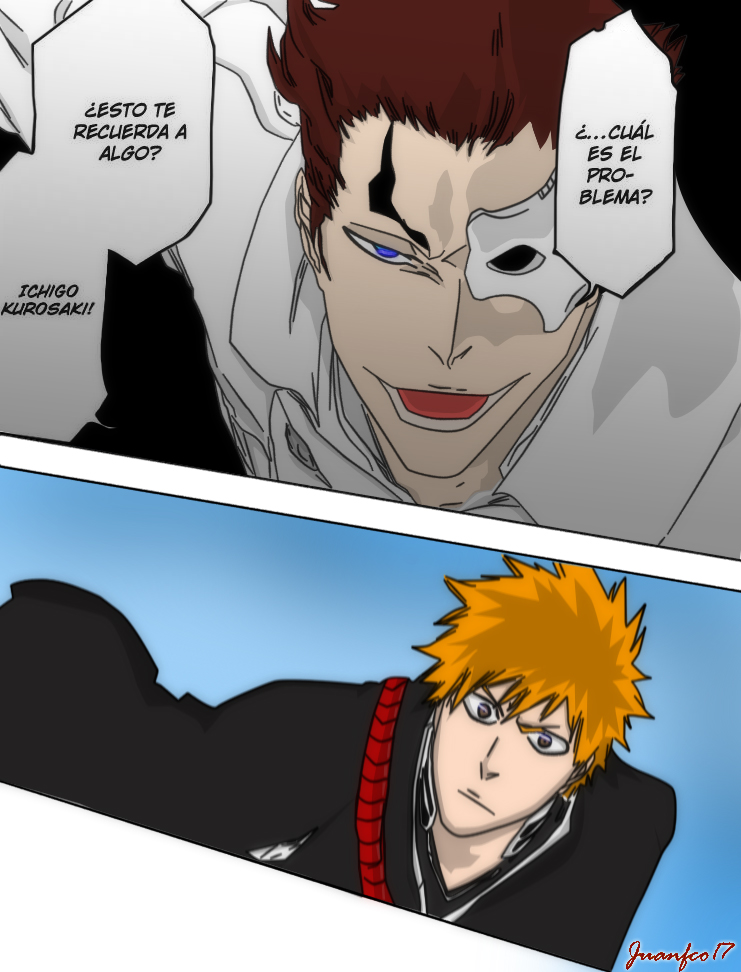bleach manga 482 by juanfco17