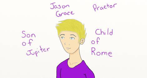 Jason Grace - Praetor by TaylorsDoodles
