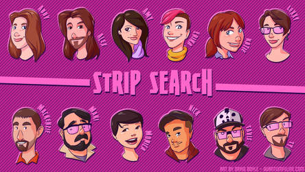 Strip Search Wallpaper