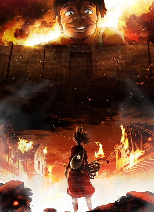 Attack on Arrietty by TaffyDesu
