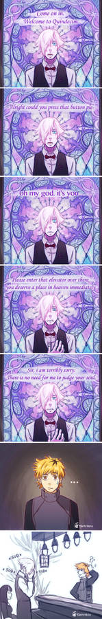 Death Parade and Tokyo Ghoul