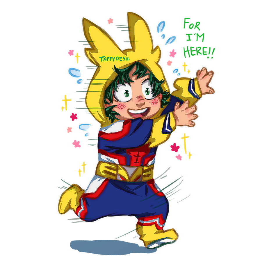 I am here all might