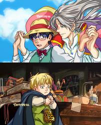 Viktor's Moving Castle by TaffyDesu
