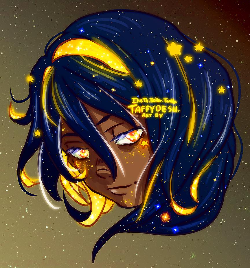 Star Cheeks by TaffyDesu