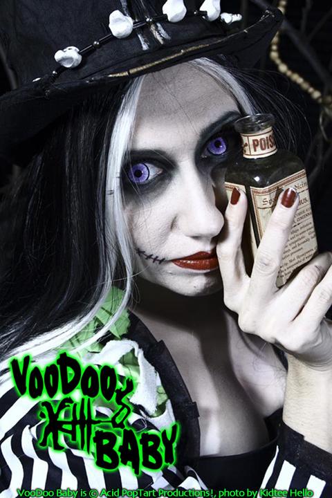 VooDoo Baby Prepares Tea by Acid-PopTart