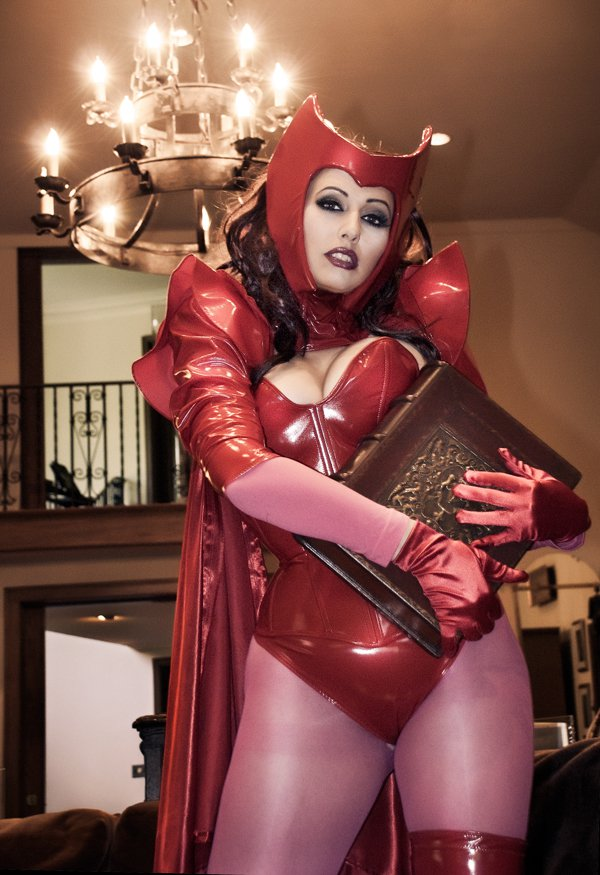 My Book - Scarlet Witch by Acid-PopTart