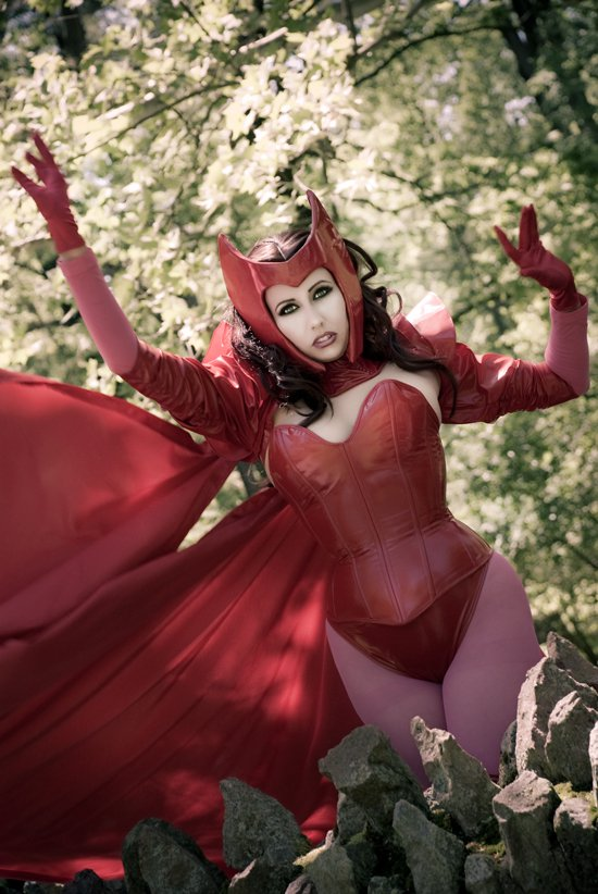 None Shall Pass -Scarlet Witch by Acid-PopTart