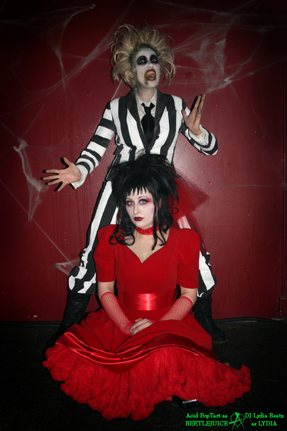 Beetlejuice and Lydia by Acid-PopTart
