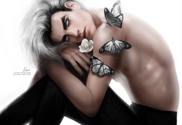 White Monarch by Lidiash