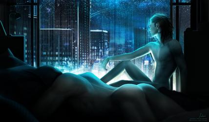 City Lights by Lidiash
