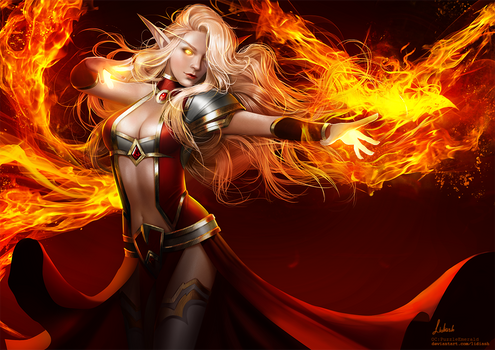 [C] Truly fire