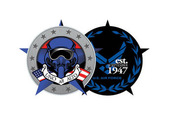 USAF Anniversary Coin 1