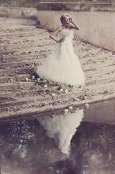 Wedding dress by AnnaVerre