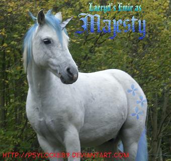 MLP - Emir as Majesty by Psylocke83