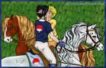 NaruSasu - riders kiss by Psylocke83