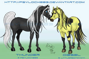 Thunder + Diesel by Psylocke83