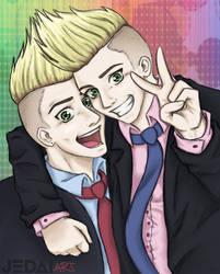 Twins by Psylocke83