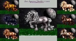 Horses by Psylocke83